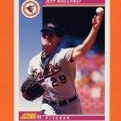 1992 Score Baseball #129 Jeff Ballard - Baltimore Orioles