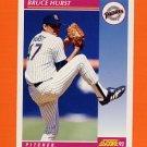1992 Score Baseball #111 Bruce Hurst - San Diego Padres
