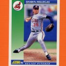 1992 Score Baseball #093 Shawn Hillegas - Cleveland Indians
