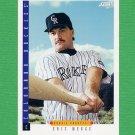 1993 Score Baseball #561 Eric Wedge RC - Colorado Rockies