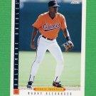 1993 Score Baseball #234 Manny Alexander - Baltimore Orioles ExMt
