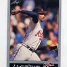 1992 Leaf Baseball #489 Alejandro Pena - Atlanta Braves