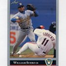 1992 Leaf Baseball #475 William Suero - Milwaukee Brewers