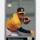 1992 Leaf Baseball #474 Rich Gossage - Oakland A's
