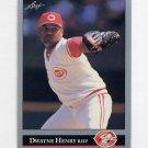1992 Leaf Baseball #433 Dwayne Henry - Cincinnati Reds