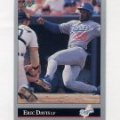 1992 Leaf Baseball #430 Eric Davis - Los Angeles Dodgers