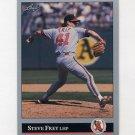 1992 Leaf Baseball #418 Steve Frey - California Angels