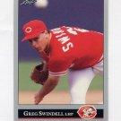 1992 Leaf Baseball #384 Greg Swindell - Cincinnati Reds