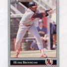 1992 Leaf Baseball #378 Hubie Brooks - California Angels