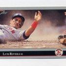 1992 Leaf Baseball #355 Luis Rivera - Boston Red Sox