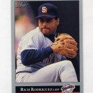 1992 Leaf Baseball #319 Rich Rodriguez - San Diego Padres