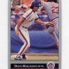 1992 Leaf Baseball #306 Dave Magadan - New York Mets
