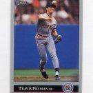 1992 Leaf Baseball #304 Travis Fryman - Detroit Tigers