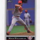 1992 Leaf Baseball #301 Mitch Williams - Philadelphia Phillies
