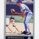 1992 Leaf Baseball #295 Jim Eisenreich - Kansas City Royals