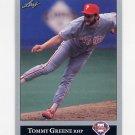 1992 Leaf Baseball #292 Tommy Greene - Philadelphia Phillies