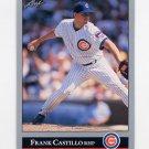 1992 Leaf Baseball #290 Frank Castillo - Chicago Cubs