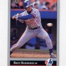 1992 Leaf Baseball #288 Bret Barberie - Montreal Expos