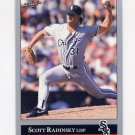 1992 Leaf Baseball #281 Scott Radinsky - Chicago White Sox