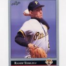 1992 Leaf Baseball #256 Randy Tomlin - Pittsburgh Pirates