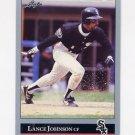 1992 Leaf Baseball #237 Lance Johnson - Chicago White Sox