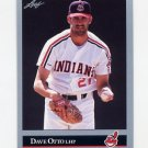 1992 Leaf Baseball #218 Dave Otto - Cleveland Indians