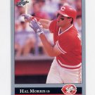 1992 Leaf Baseball #205 Hal Morris - Cincinnati Reds