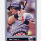 1992 Leaf Baseball #193 Rob Deer - Detroit Tigers