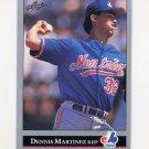 1992 Leaf Baseball #190 Dennis Martinez - Montreal Expos