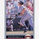 1992 Leaf Baseball #188 Cory Snyder - San Francisco Giants