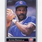 1992 Leaf Baseball #183 Andre Dawson - Chicago Cubs