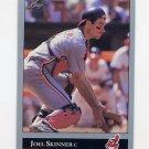 1992 Leaf Baseball #181 Joel Skinner - Cleveland Indians