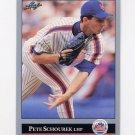 1992 Leaf Baseball #176 Pete Schourek - New York Mets
