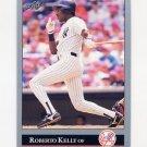 1992 Leaf Baseball #156 Roberto Kelly - New York Yankees