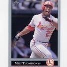 1992 Leaf Baseball #150 Milt Thompson - St. Louis Cardinals
