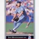 1992 Leaf Baseball #136 Jeff Montgomery - Kansas City Royals
