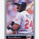 1992 Leaf Baseball #082 Shane Mack - Minnesota Twins
