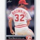 1992 Leaf Baseball #046 Tom Browning - Cincinnati Reds