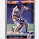1992 Leaf Baseball #042 Vince Coleman - New York Mets