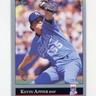 1992 Leaf Baseball #031 Kevin Appier - Kansas City Royals