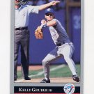 1992 Leaf Baseball #027 Kelly Gruber - Toronto Blue Jays