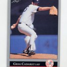 1992 Leaf Baseball #024 Greg Cadaret - New York Yankees