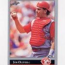 1992 Leaf Baseball #007 Joe Oliver - Cincinnati Reds