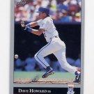 1992 Leaf Baseball #004 Dave Howard - Kansas City Royals
