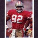 1994 Fleer Football #428 Troy Wilson RC - San Francisco 49ers