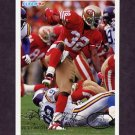 1994 Fleer Football #427 Ricky Watters - San Francisco 49ers
