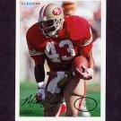 1994 Fleer Football #416 Marc Logan - San Francisco 49ers