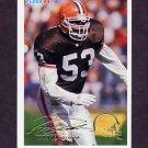 1994 Fleer Football #097 Pepper Johnson - Cleveland Browns
