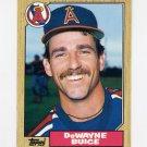 1987 Topps Traded Baseball #013T DeWayne Buice - California Angels