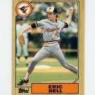 1987 Topps Traded Baseball #003T Eric Bell - Baltimore Orioles